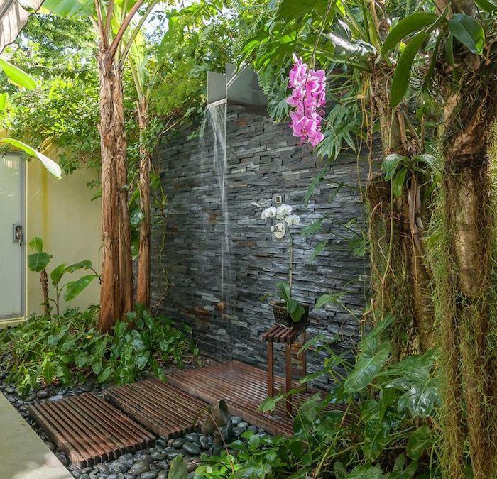▷ 1001 + Crie idéias e fotos sobre o chuveiro do jardim   – Gartengestaltung Ideen