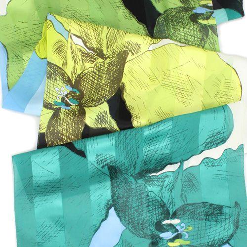 Design Jaana Hellas Finland 2014. Silk scarf for Marja Kurki.