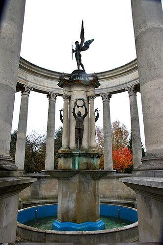 Welsh National War Memorial, Alexandra Gardens, Cardiff, South Wales, UK