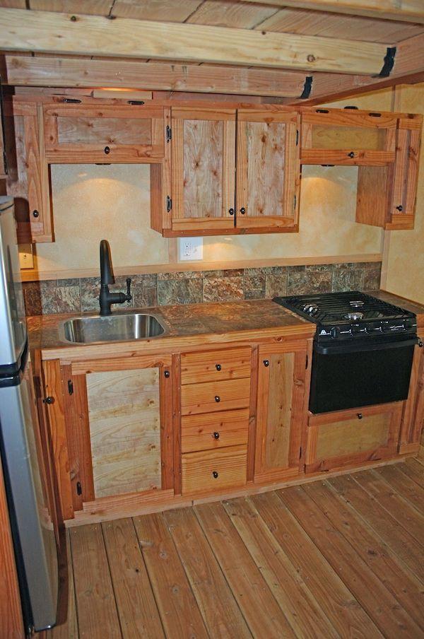 Tiny house kitchen layouts
