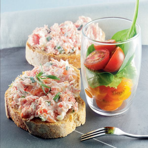 WeightWatchers.fr : recette Weight Watchers - Tartinade aux deux saumons