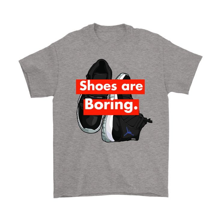 Shoes are Boring x J11 Space Jams Shirt