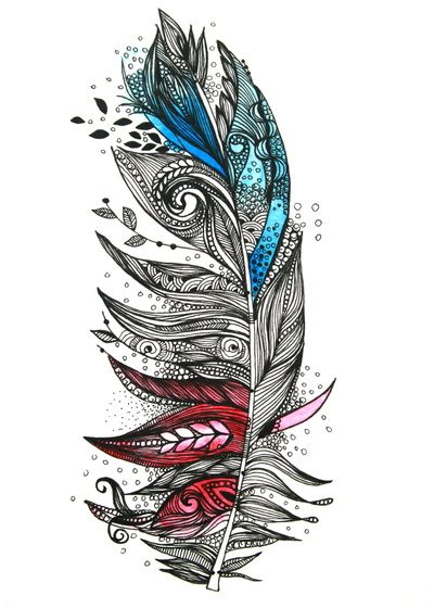 Garden Feather Art Print by Himadri Pachori | Society6