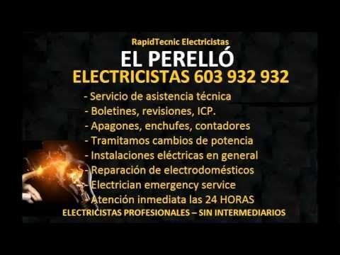 Electricistas el perell 603 932 932 baratos - Electricistas en castellon ...