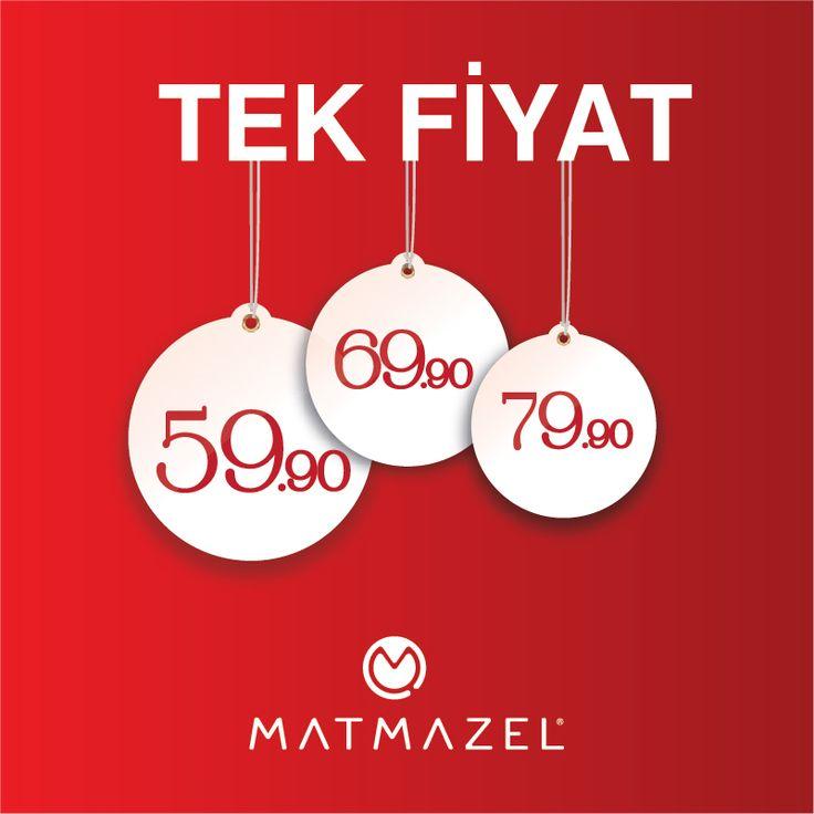 #ANKAmall Matmazel'de tek fiyat!