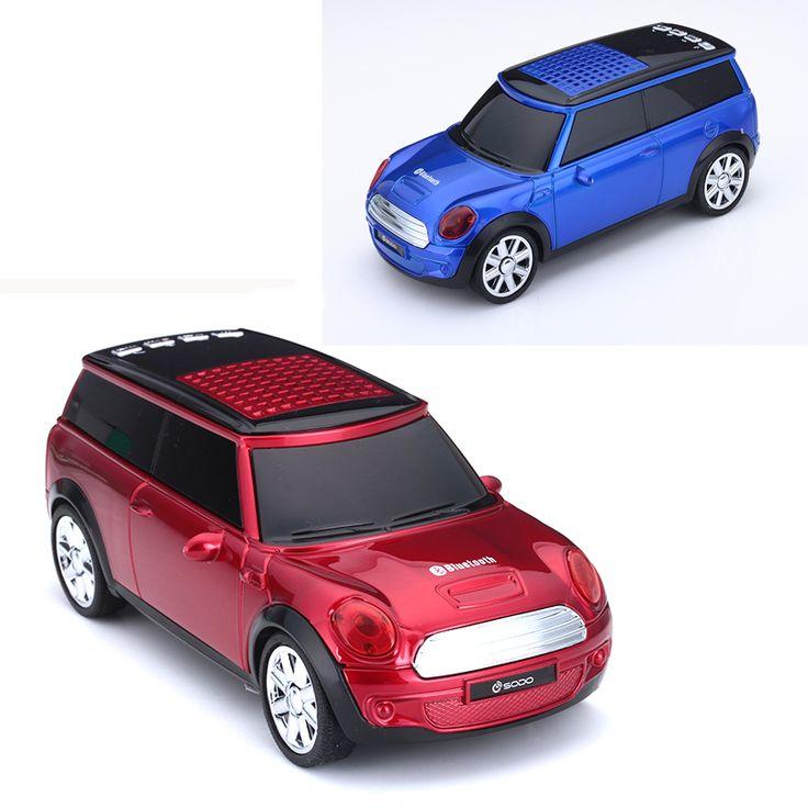 New SUV Car 2017 Wireless Bluetooth Speaker Mini Stereo Loudspeaker USB Subwoofer FM Audio Speaker Portable Laptop PC Speakers