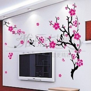 Large Wall Decor Decal Sticker Vinyl Sakura Flower 001 U2013 Home Decor Part 79