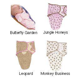 Summer Infant Small Cotton Knit SwaddleMe Blanket