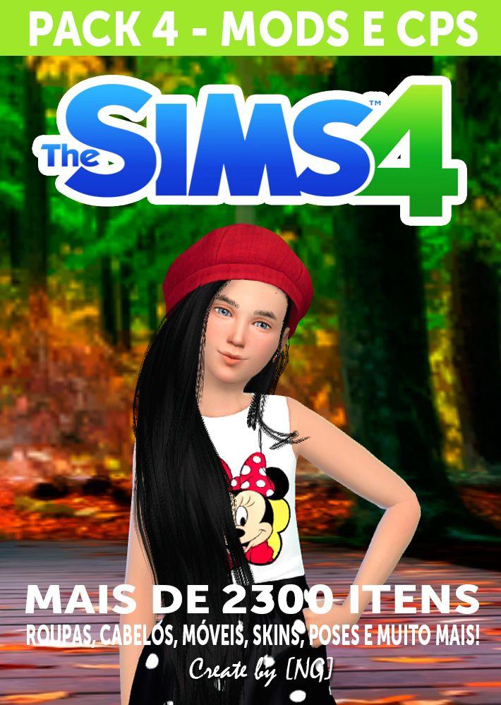 Nathys Sims: Pack 4 - Mods e Cps [NG]