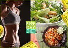FREE DAY DIET: Xάσε 5 κιλά και φάε ό,τι θέλεις μια μέρα την εβδομάδα!