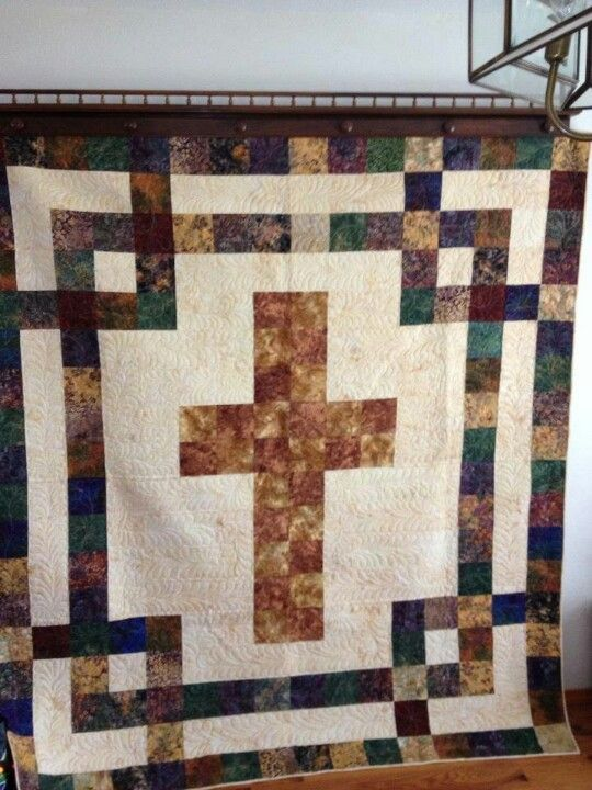 12 Best Cross Quilt Images On Pinterest Cross Quilt