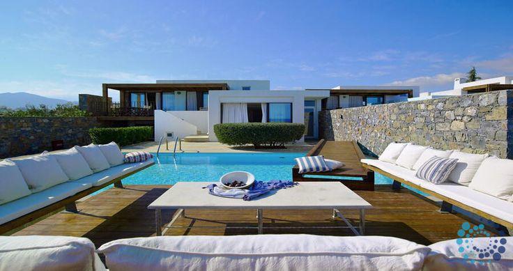 "Welcome to the ""Villa Hera's Place"" in Crete, Greece. Your #luxury #villa #rent #greece #greek #island #vacances #grece #mygreekvilla #alouer"