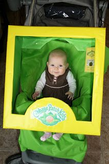 Imperfectly Homemade Mom by Monica: Cabbage Patch Box Stroller Costume