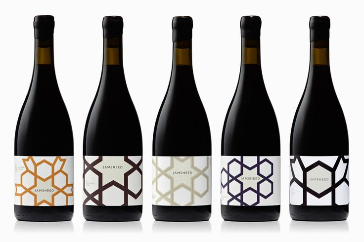 Packaging design by Cloudy Co. for Yarra Valley boutique wine label Jamsheed