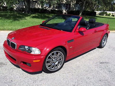 Car brand auctioned:BMW: 3-Series M3 No Reserve! Low Mileage 2002 BMW M3 Convertible 6 Speed Manual Electric Red/Blk View http://auctioncars.online/product/car-brand-auctionedbmw-3-series-m3-no-reserve-low-mileage-2002-bmw-m3-convertible-6-speed-manual-electric-redblk/