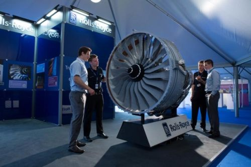 Lego replica of a Rolls Royce Trent 1000 jet engine #mobilephones #technology
