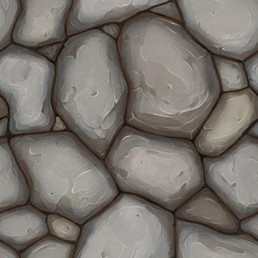 Sol en pierres (Raccordable)