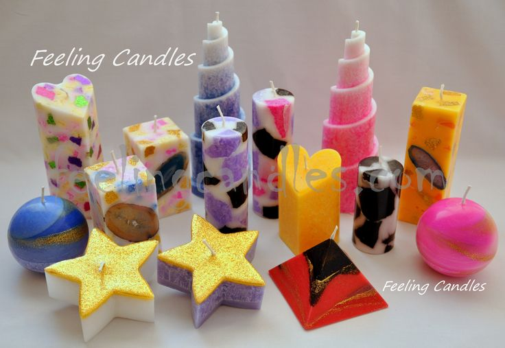 diferentes tipos de velas