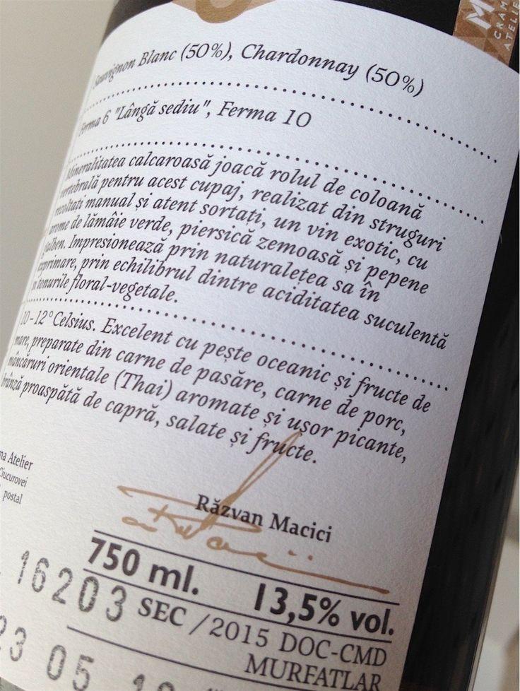 Magazin de vin – Portofoliu – Sable Noble alb