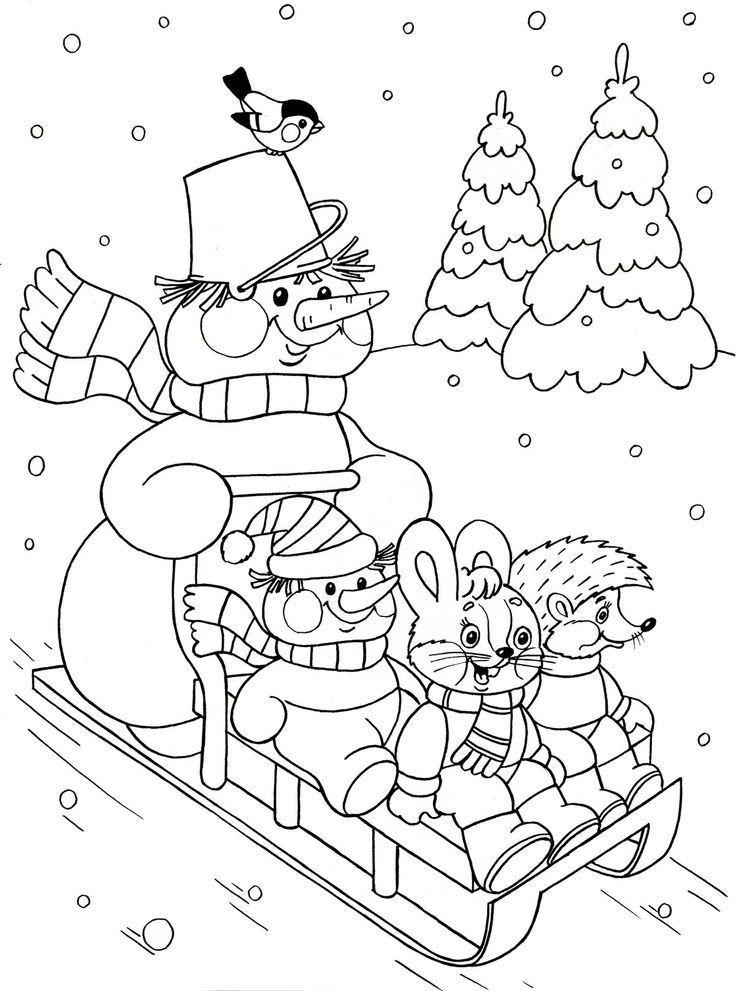 winter malvorlagen 4  diy blog  weihnachtsmalvorlagen