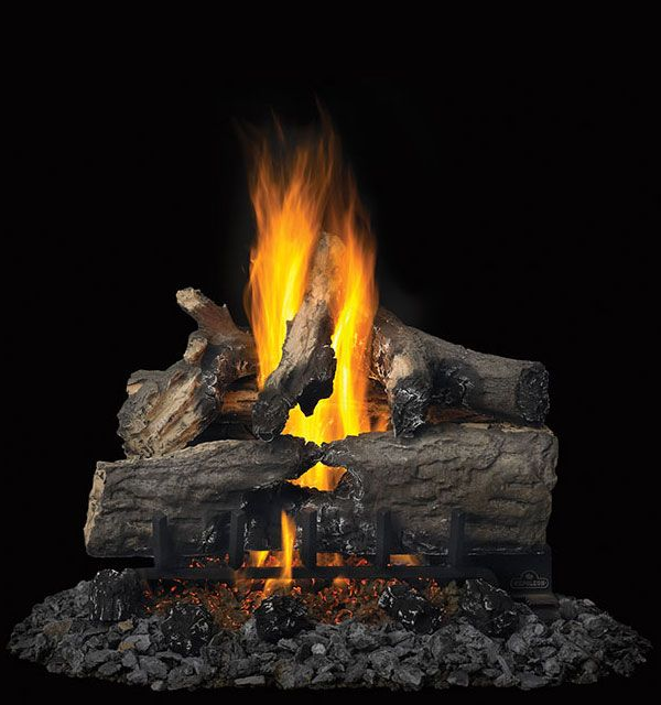 Verso™ 22 -GL22 Gas Logs - natural bark configuration