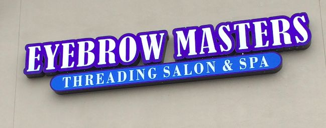 Let the threading experts at eyebrow masters tame your for Fish pedicure dallas