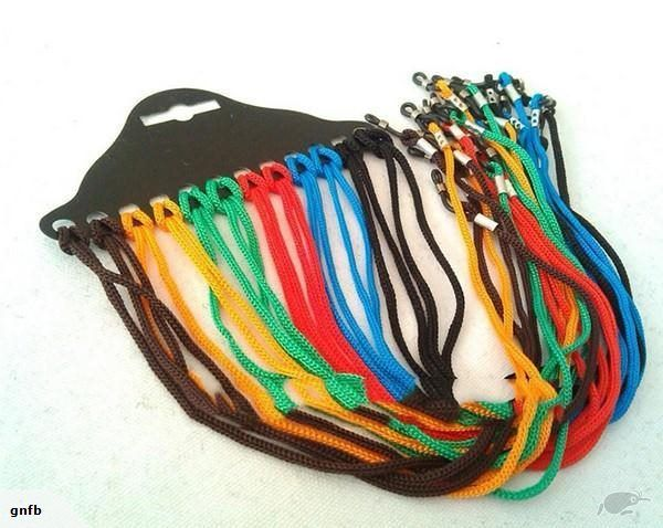 5 x (five)Colorful Eyewear Nylon Cord Rope Glasses Reading Glass Neck Lanyard Strap Eyeglass Holder Rope    Free Delivery NZ Wide  Random colour sent unless req...