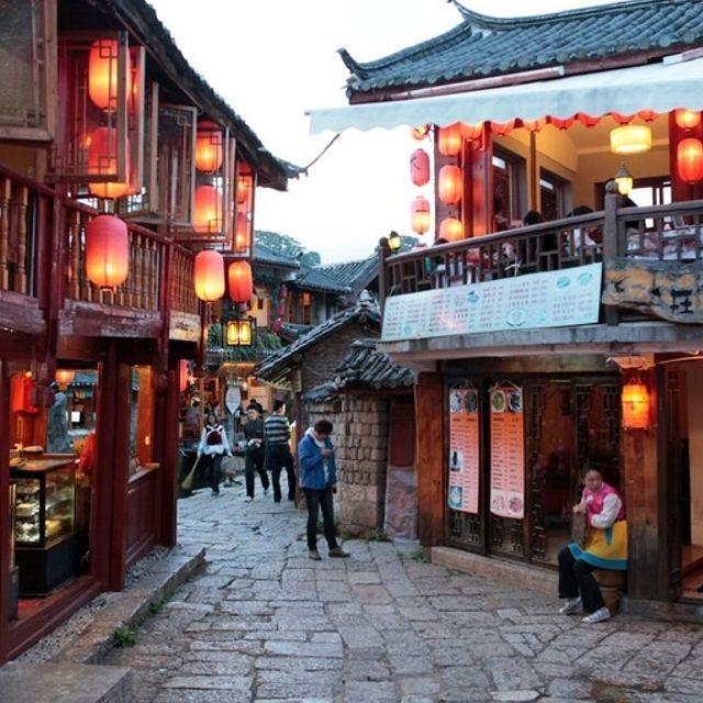 La città vecchia, con i suoi vicoli e le piazzette, dal 1997 fa parte del Patrimonio Unesco #Lijiang