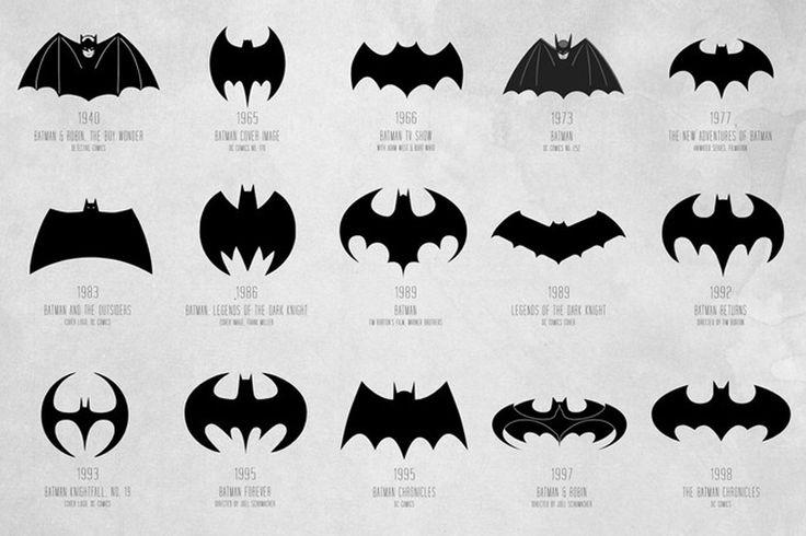 The Evolution of the Batman Logo | Bats, Search and Batman ...