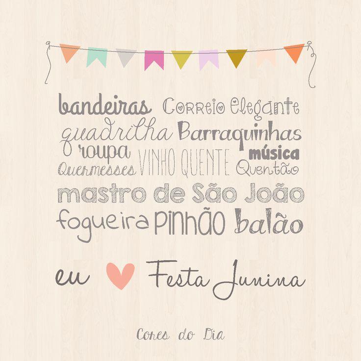 Eu amo Festa Junina