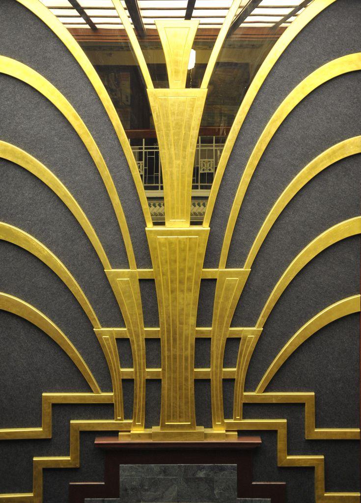 178 best images about art deco metal work on pinterest. Black Bedroom Furniture Sets. Home Design Ideas
