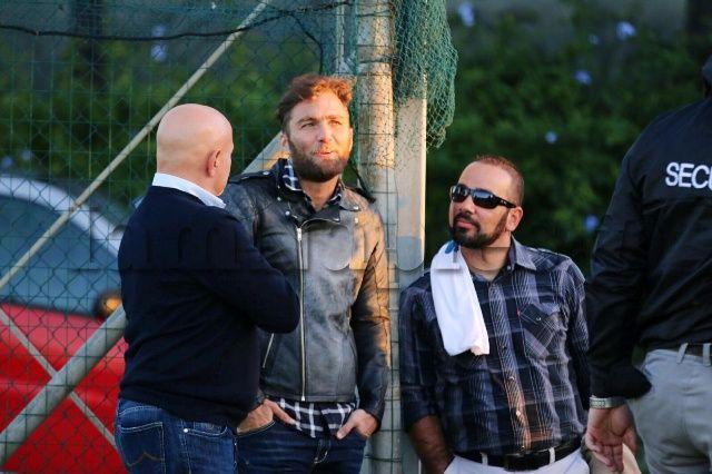FOTO IAMNAPLES.IT - Nicolas, fratello e agente di Higuain, a Castel Volturno