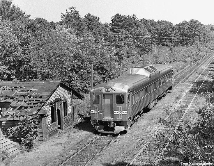 Boston & Maine Budd RDC trolleys, etc. in 2019 Train