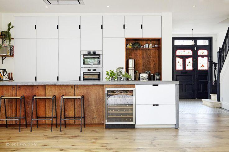 black and white wood kitchen design ideas Best 25+ White wood kitchens ideas on Pinterest | White wood, Kitchen ideas and Kitchen ideas