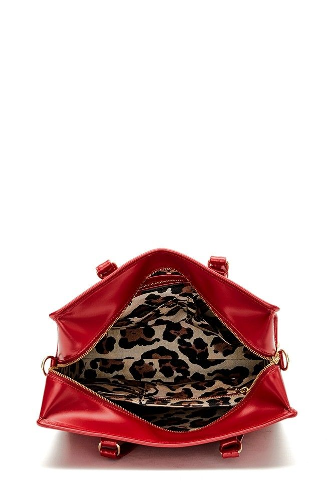 c8561350478c Louisa Business Bag Cherry Red - Fabienne Chapot - The official webshop