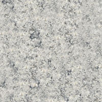 KraftMaid 4 in. x 4 in. Natural Quartz Vanity Top Sample in Shadow Swirl-FS44SSW.KM,HVKM,HVKM - The Home Depot