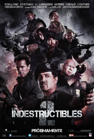 Los Indestructibles 2 Trailer Español.