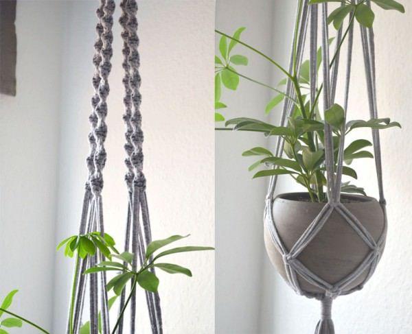 die 25 besten ideen zu blumenampeln auf pinterest h ngepflanzen zimmer h ngepflanzen und. Black Bedroom Furniture Sets. Home Design Ideas