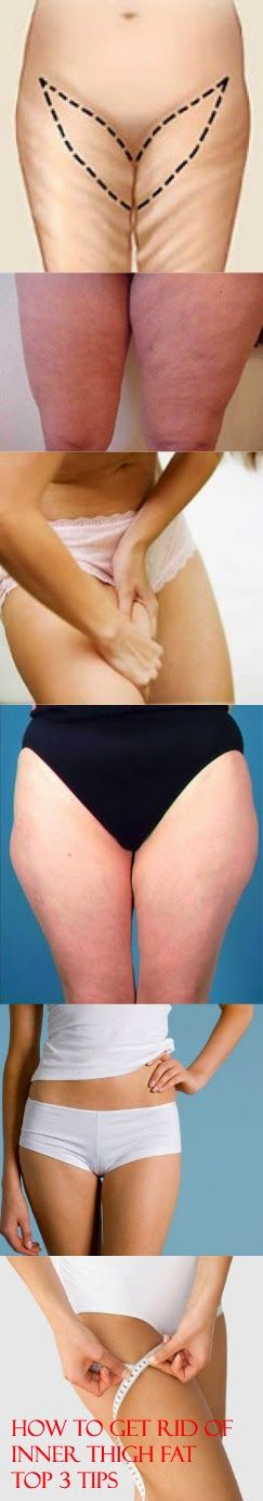 Inner   Fat Top Tips Tips to Rid      How Zone infrared Thigh   white Get of