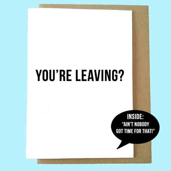 Good Luck New Job Meme Funny : Best leaving cards new job promotion etc images on