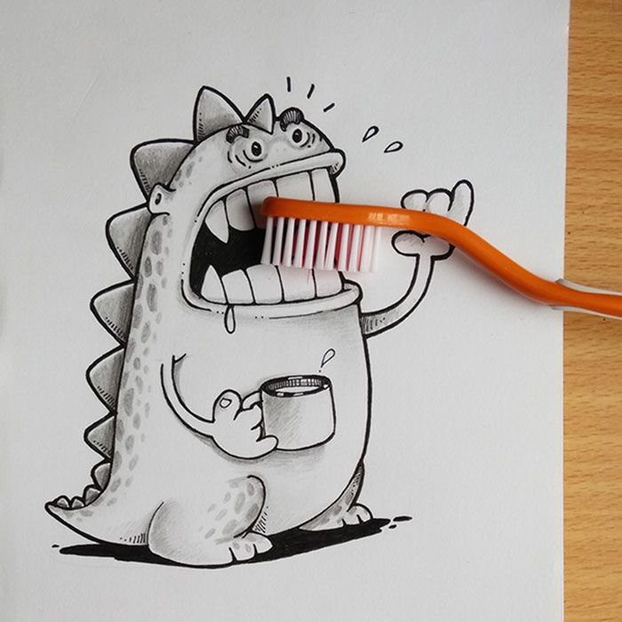 Our Pet Dragon Loves Playing With Everyday Objects | Bored Panda