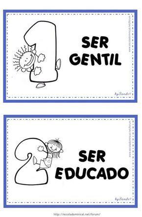 Mais um modelo de regras de convivência para sala de aula   Gostou, é só salvar e imprimir                       Fonte:http://www.es...