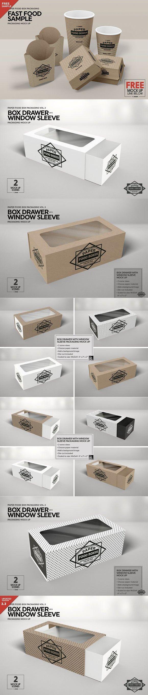 Download Box Window Sleeve Packaging Mockup Packaging Mockup Free Packaging Mockup Sleeve Packaging