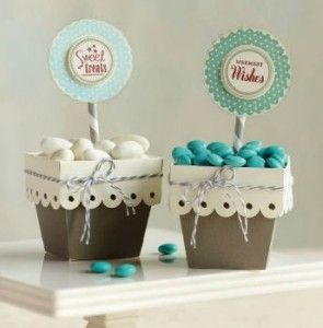 Make Scalloped Gift Favor Boxes with Cricut Artist Cartridge