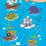 Thema Piraten, lestips bij de doelen van de verschillende leerlijnen voor kleuters