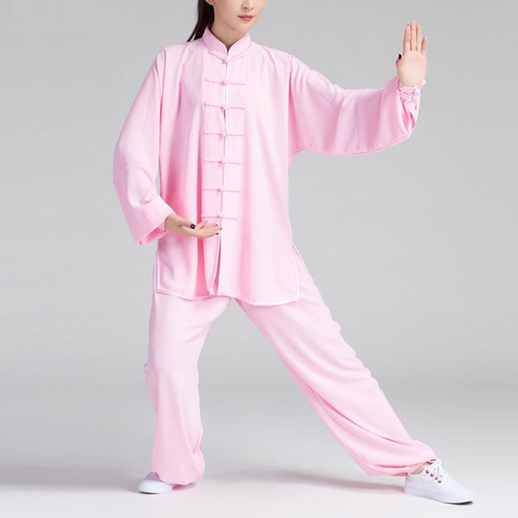 Newly Tai Chi Clothing Women Cotton Linen Unisex Martial Arts Uniform WuShu Kung Fu Outfits Exercise Stage Performance Costumes