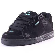 Scarpe Uomo Donna Skate GLOBE Shoes Sabre Black Aqua Schuhe Chaussures Zapatos