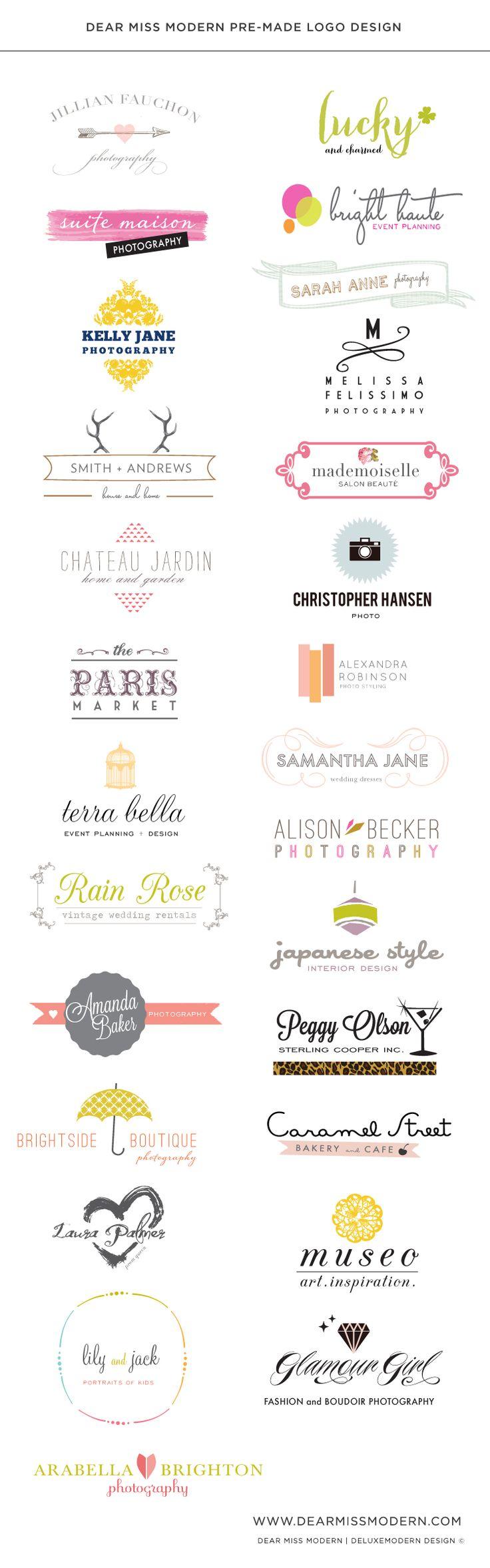 Dear Miss Modern Logos