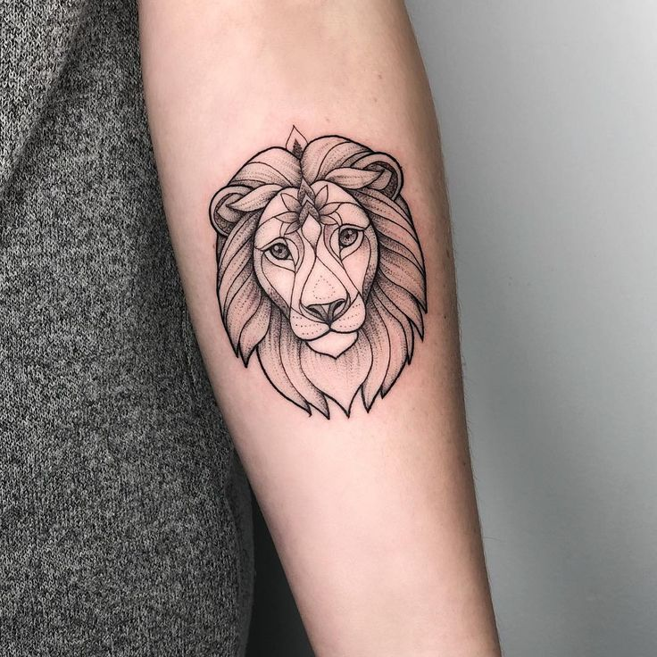 Tattoo Rainkers Animaltattoo Linework Dotwor Tattoo Irainkers Animaltattoo Li Tatuaje Leon Pequeno Tatuajes De Moda Tatuajes De Arte Corporal