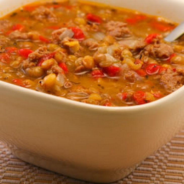 brown lentils lentil soup recipes chowder recipes italian sausages ...